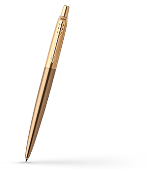 Шариковая ручка Parker Parker Jotter Premium, West End Brushed GT, нержав  1953203