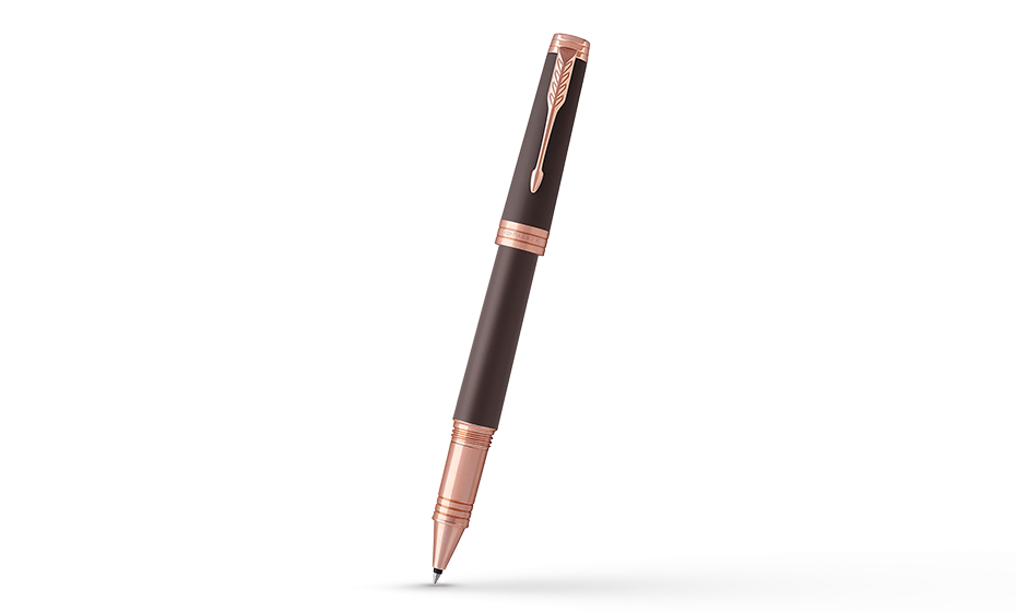 Чернильная ручка Parker Ручка-роллер Parker Premier Soft Brown PGT, лак, л  1931407