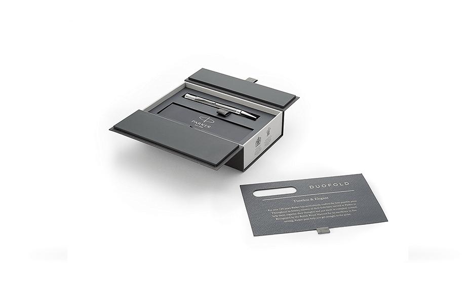 Шариковая ручка Parker Duofold, латунь, никель, металл  1931367 351179313672