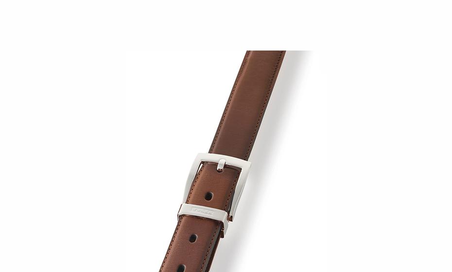 Ремень Dalvey Dalvey, классический, кожа, коричневый  1129