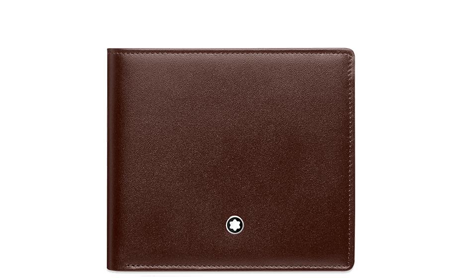 Бумажник Montblanc Meisterstuck, с отделением для монет, коричневый  114546