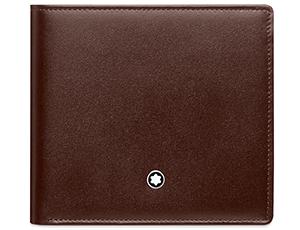 Бумажник Montblanc Meisterst?ck, с отделением для монет, коричневый  114546