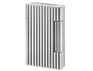 Зажигалка S.T. Dupont Initial, белая бронза, вертикальный узор  20802