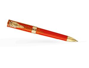 Шариковая ручка Montegrappa Игра Престолов Lannister, красный лак, желтое золо  GAMOFTH-LAN-BP