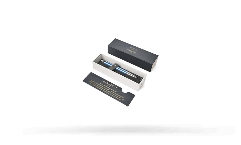 Шариковая ручка Parker IIM Premium Blue CT, голубой лак, анодированный ал  1931691 351179316918