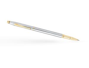 Чернильная ручка Cross Century Classic, латунь, белый лак, хром  AT0085-75