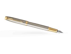 Перьевая ручка Parker IM Deep Black CT, черный лак, хром  1931684