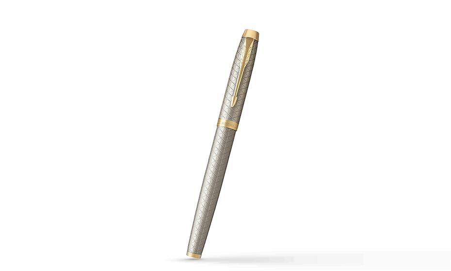 Чернильная ручка Parker IM Deep Black CT, черный лак, хром  1931686 351179316864