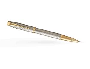 Чернильная ручка Parker IM Deep Black CT, черный лак, хром  1931686