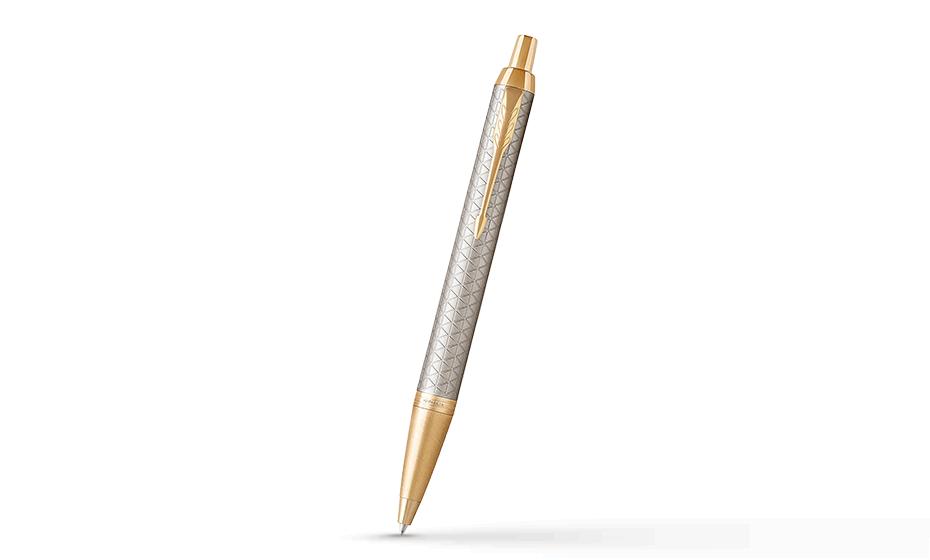 Шариковая ручка Parker IM Deep Black CT, черный лак, хром  1931687 351179316871
