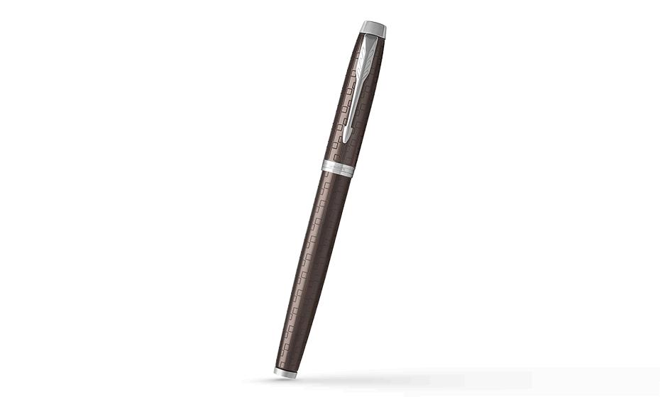 Перьевая ручка Parker IM Deep Black CT, черный лак, хром  1931676 351179316765