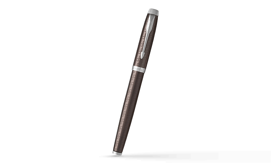 Чернильная ручка Parker IM Deep Black CT, черный лак, хром  1931678 351179316789