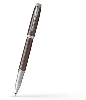 Чернильная ручка Parker IM Deep Black CT, черный лак, хром  1931678