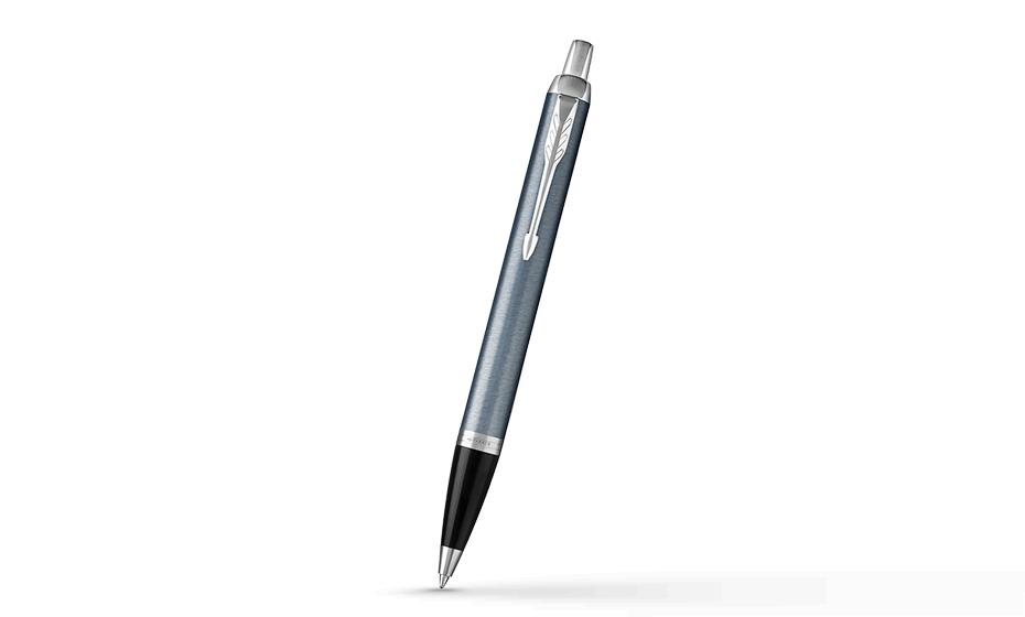 Шариковая ручка Parker IM Deep Black CT, черный лак, хром  1931669 3501179316697