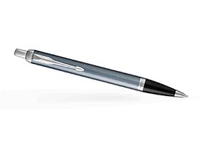 Шариковая ручка Parker IM Deep Black CT, черный лак, хром  1931669