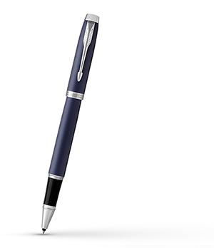 Чернильная ручка Parker IM Deep Black CT, черный лак, хром  1931661