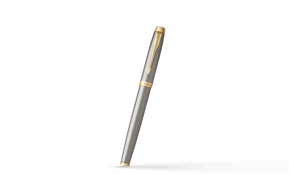 Чернильная ручка Parker IM Deep Black CT, черный лак, хром  1931663 1931663 3501179316635