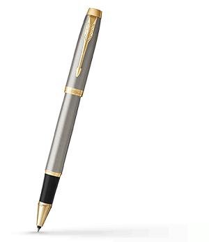 Чернильная ручка Parker IM Deep Black CT, черный лак, хром  1931663