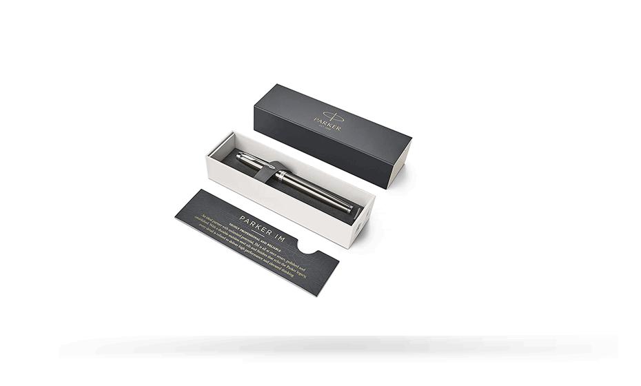Перьевая ручка Parker Parker IM Dark Espresso CT, лак, хром, кофе  1931650 1931650 3501179316505