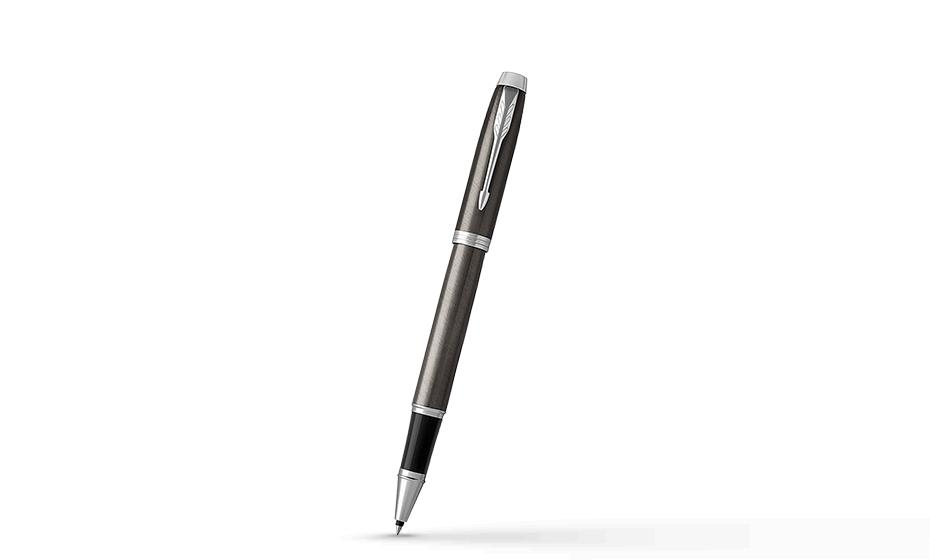 Чернильная ручка Parker IM Deep Black CT, черный лак, хром  1931664 3501179316642