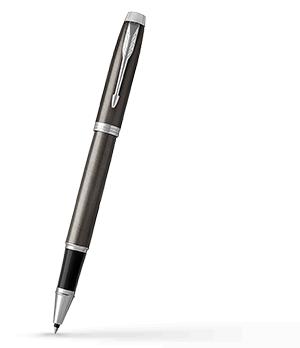 Чернильная ручка Parker IM Deep Black CT, черный лак, хром  1931664