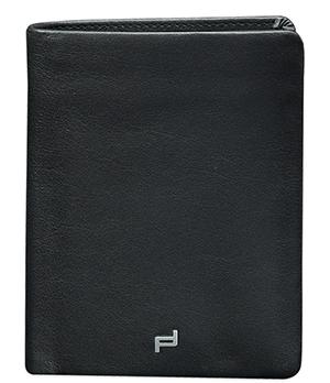 Портмоне мужское черное Porsche Design Натуральная кожа, полиэстер, 2 отделения для купюр  4090002435