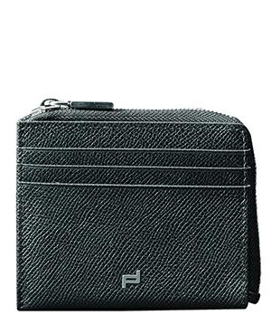 Портмоне мужское черное Porsche Design Натуральная кожа, мужской, главное отделение на мо  4090002159