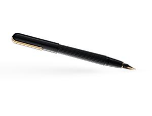 Перьевая ручка Lamy 060 imporium, черный/золотое покрытие  4027927