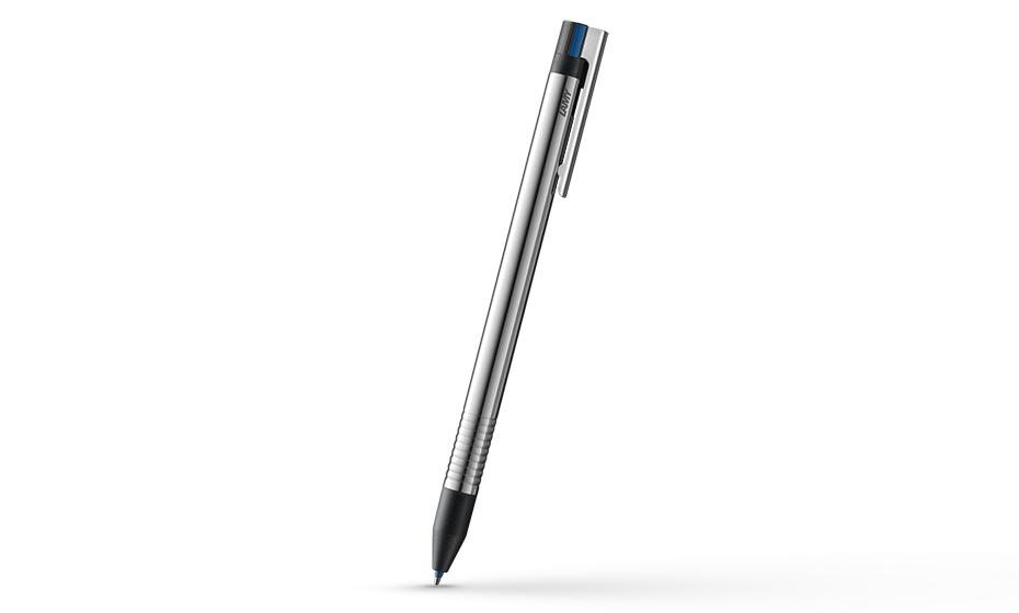 Мультисистемная ручка Lamy logo 405, металл, красный/черный/синий  4001238