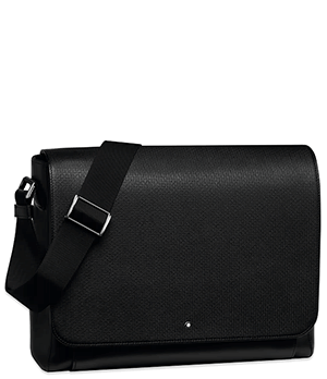 Сумка Montblanc Messenger Meisterst?ck Selection UNICEF, кожа, чер  116309