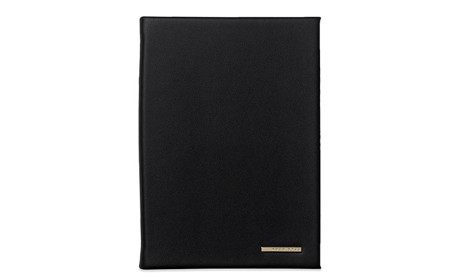 Блокнот Hugo Boss Essential Dark Blue, А6, экокожа  HNM707N