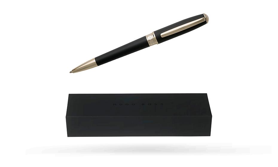 Шариковая ручка Hugo Boss Essential Dark Blue, темно-синий лак  HSC7074N