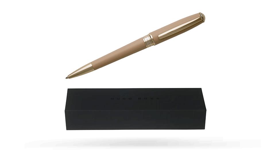 Шариковая ручка Hugo Boss Essential Nude, бежевый лак  HSC7074X