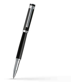 Чернильная ручка Hugo Boss Caption Classic, черный, хром  HST7255
