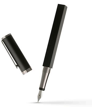 Перьевая ручка Hugo Boss Bauhaus, черный лак  HSS7752