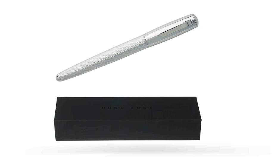 Чернильная ручка Hugo Boss Pure Chrome, хром  HSY7425B