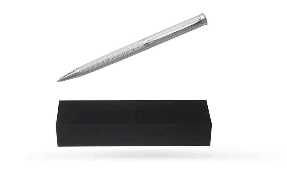 Шариковая ручка Hugo Boss Sophisticated Chrome, хром  HSY7994B
