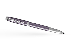 Чернильная ручка Parker IM премиум, анодированный алюминий, фиолетовая  1931639