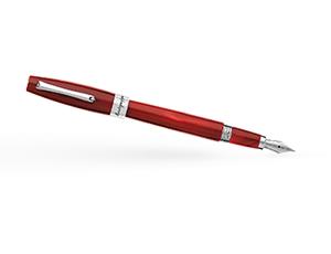 Перьевая ручка Montegrappa Эпоксидная смола, перо F из нержвающей стали, съем  FEL-R-FP