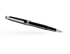 Перьевая ручка Montblanc Драгоценная смола, перо F, золото 14К с родиевым п  116074