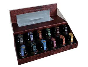 Палитра Authentic Models 12 цветов, стекло, 23.6*8.9*7.6 см  MG084