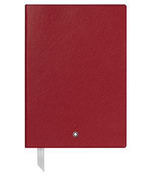Блокнот Montblanc Fine Stationery, кожа с тиснением под сафьян, крас  116521