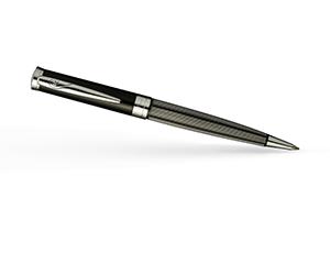 Шариковая ручка Pierre Cardin Elegant, латунь, лак, черная  PC7211BP