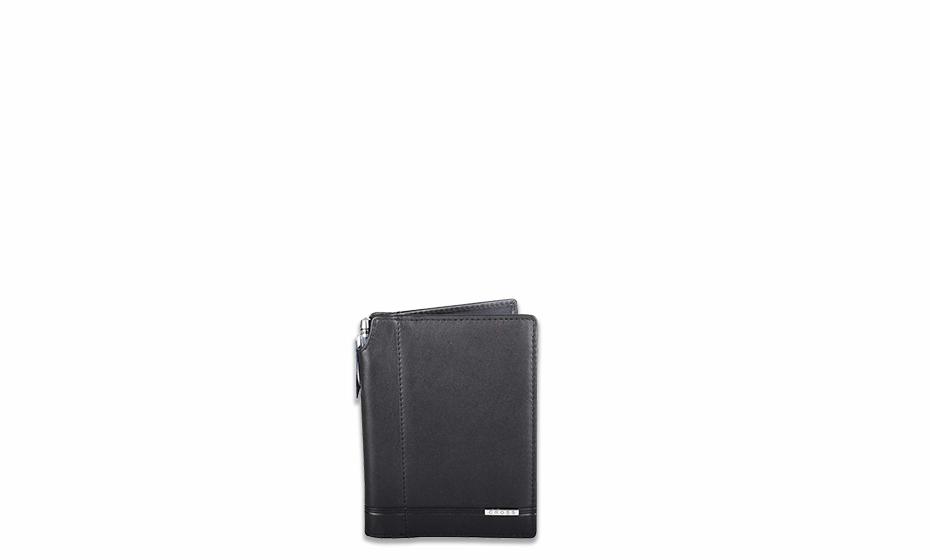Набор Cross Cross, обложка для блокнота + ручка, цвет черный  AC018040-1