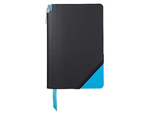 Записная книжка Cross Cross Jot Zone,черно-голубой, 21.0 Х 15.0, А5+ручк  AC273-3M