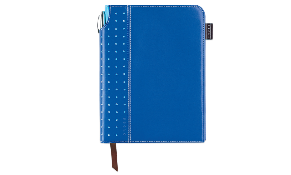 Записная книжка Cross Cross, А5+ручка, 3/4, синий  AC236-5S