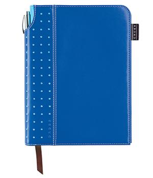 Записная книжка Cross Cross, 250 страниц, А5+ручка, 3/4, синий  AC236-5M
