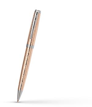 Шариковая ручка Pierre Cardin Renaissance, хром, розовая позолота  PC6900BP-R