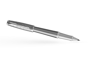 Чернильная ручка Parker Parker Urban Premium Silvered Powder CT, нержавеющ  1931586