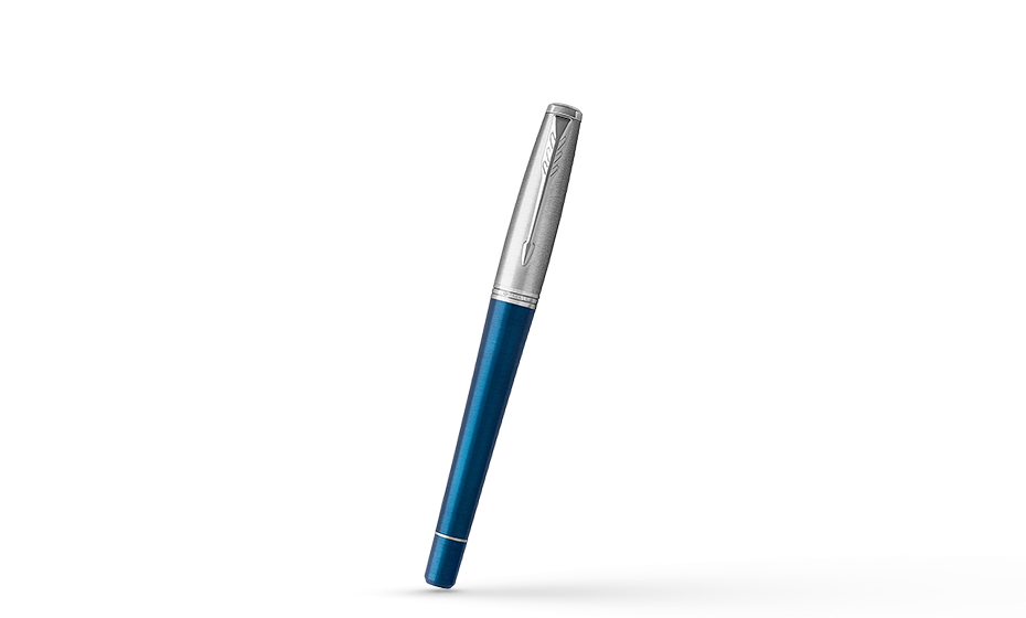 Чернильная ручка Parker Parker Urban Premium Dark Blue CT, анодированный а  1931566 351179315669